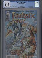Fantastic Four #v2 #2 CGC 9.6 Jim Lee classic cover 1996 SUB-MARINER