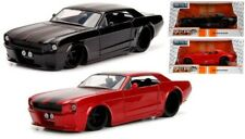 "1:24 scale 1965 Ford Mustang GT (Red / Black) Jada ""BigTime Muscle"""
