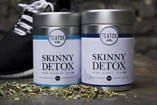 Teatox Morgentee und Abendtee Skinny Detox Kur 2 x 50 Gramm Bio