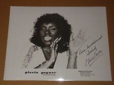 Gloria Gaynor 1979 10 x 8 US Agency Publicity Photo (2)