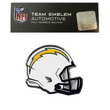 New NFL San Diego Chargers Color Aluminum Helmet 3-D Auto Emblem Sticker Decal