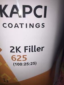 2K Urethane Primer & Sealer HS Gallon Kit- Black, STICKS & STRAINERS