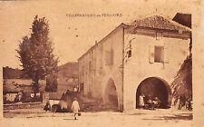 24 / VILLEFRANCHE DE PERIGORD // TRES ANIMEE // INEDITE