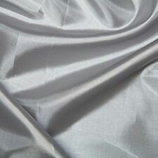 """Silk Lining Plain Coloured Habotai Polyester Fabric Material 145cm (57"""") Wide"""