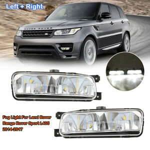 For 2013-2017 Land Rover Range Rover Sport L405 Front Fog Light Lamps Left+Right