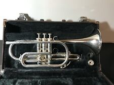 Yamaha Cornet Model YCR-2310 Silver Plated! with hard case.