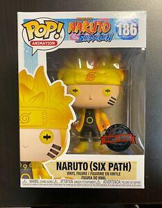 Funko POP Naruto Shippuden Naruto Six Path Glow In The Dark Special Edition