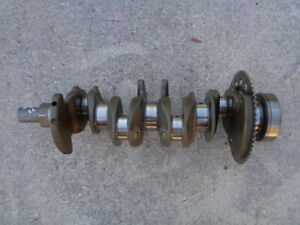 2012 HONDA INSIGHT 1.3L HYBRID ENGINE CRANKSHAFT CRANK SHAFT OEM