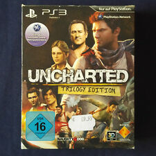Ps3-PlayStation ► Uncharted parte 1 2 & 3 ◄ Uncharted Trilogy Edition