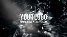 I will reveal your logo with three BULLET gun shots video intro