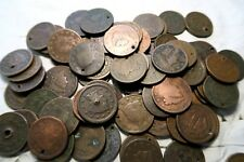 (5) Different Mixed Large Cent Lot // *W/ DATES* // Bust-Classic-Coronet-Braided