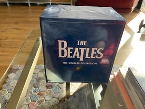 """The Beatles The Singles Collection - 7"""" Vinyl Box Set - BRAND NEW SEALED"""