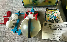 VINTAGE MEGO MICRONAUTS HYDRO COPTER WITH BOX