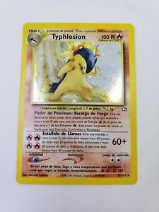 TYPHLOSION - Holo Foil Spanish | Neo Genesis 17/111 | Pokemon Card - Mint!