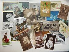 More details for cat postcards vintage   c1920s 30 cards