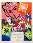 Madame Pompadour 1951 Matisse Art Vintage Poster Print Retro Style Art Decoratio