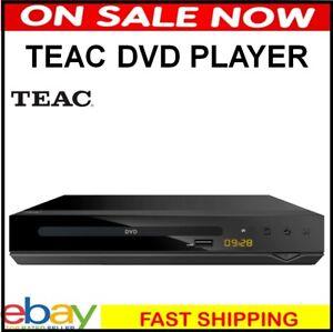 Teac DVD Player Multi Region Free Movie Player HDMI Remote Control DV450 USB