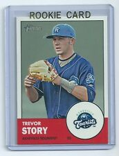 Trevor Story 2012 Topps Heritage Asheville Tourists Rookie Card #46 qty