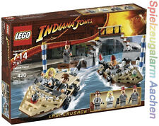 LEGO 7197 Indiana Jones Verfolgungsjagd in Venedig sehr selten very RAR misb