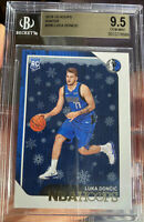 2018-19 Panini Hoops Rookie Luka Doncic WINTER Variation #268 GEM MINT 9.5 BGS