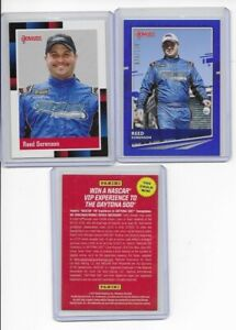 2021 DONRUSS REED SORENSON  3 CARD LOT BLUE # - RETO - VIP EX TO DAYTONA 500