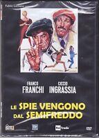 Dvd FRANCO FRANCHI & CICCIO INGRASSIA • LE SPIE VENGONO DAL SEMIFREDDO new 1966