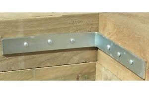 Metpost Angled Landscape Timber Connectors - Free Delivery