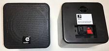2x Satelliten Lautsprecher Boxen Cubes 80Watt B406A schwarz Cube