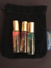 SeneGence Abundance Rollerball Travel Trio Fresh, Lush + Bloom Parfum $70 Retail