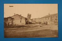 Meuse 55 Lorrain CP CPA Rouvrois 1917 Telegraphenmasten militaires Rue Fermes WK