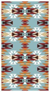 New Oversized Alameda Southwest Bath Beach Pool Gift Towel Rustic Decor Aztec