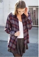 Brandy Melville WYLIE flannel NWT