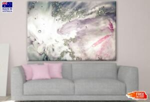 Colorful Pink White Abstract Design Canvas Collection Home Decor Wall Print Art