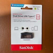 NEW SanDisk Ultra Dual Drive USB Type-C Flash Drive 128GB High Speed