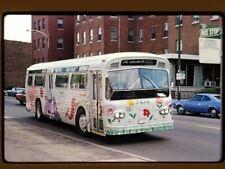 Original Slide Bus, Chicago Cta 3434, Sedgwick-Fullerton, Kodachrome 1974