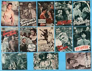 Konvolut 13x DAS NEUE FILMPROGRAMM NFP Fifties Kino Film  Tonfilm Klemmer ~1950