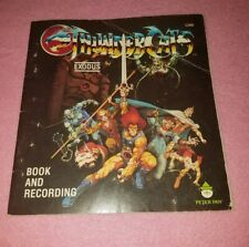 Thundercats Exodus Book 1985 Peter Pan Vintage Cartoon Book soft cover