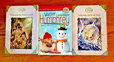 Lot of 3 children's books - read once - Disney fairies & Scholastic Humphrey