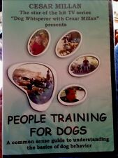 Cesar Millan - People Training For Dogs - Dog Whisperer NEW SEALED DVD! P39