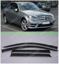 Sun Visors For Mercedes-Benz C W204 Windows Rain Deflectors Weather shields06-14