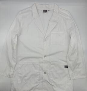 """ScrubZone By Landau Unisex 35"""" White Lab Coat - 86002"""