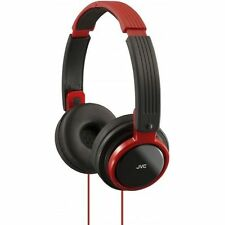 JVC Red Headphones