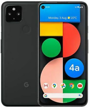 "Google Pixel 4a 5G 128GB Black 6.2"" (Unlocked) Smartphone C-Grade"