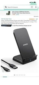 ANKER Fast Charging Stand PowerWave 7.5 iPhone, Galaxy New in Box
