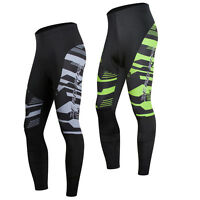 Outdoor Sports Mens Bike Tights Cycling Riding 3D GEL Padded Pants Bicycle Wear
