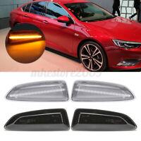 LED Side Marker Indicator Light For Opel Vauxhall Astra J K Insignia B Zafira C