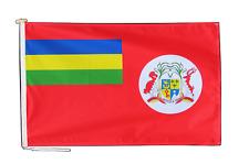 Mauritius Rouge Ensigne Drapeau 3'x2' (90cm x 60cm) Avec Corde Et Bouton - Last
