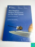 Great Courses New Frontiers: Modern Perspectives Solar System 4 DVDs + Book NEW
