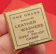 Washers For Dustproof Pocket Watch Cases Group As Shown Original Round Leather