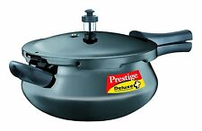 Prestige Deluxe Plus Junior Induction Base Hard Anodized Pressure Handis 4.8 Ltr